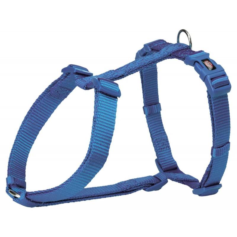 Pozostałe akcesoria dla psa trixie uprząż premium 50-75cm/25mm,królewski niebieski [tx-203402]