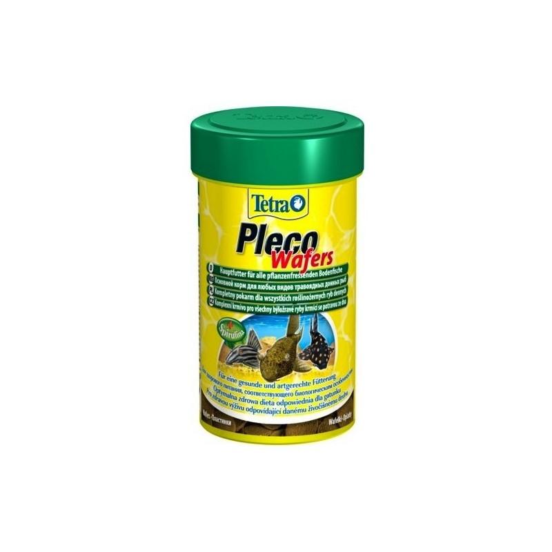 Karma dla rybek tetra pleco veggie wafers 100 ml [t198951]