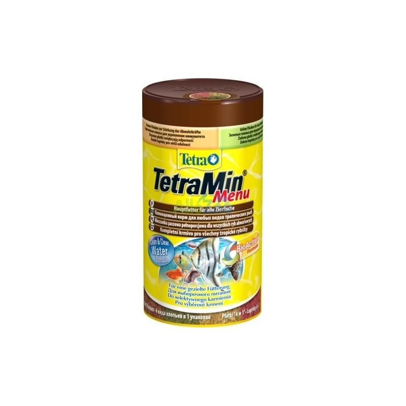 Karma dla rybek tetra tetramin menu 250 ml [t767393]